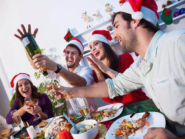 Comer en Navidad sin Engordar
