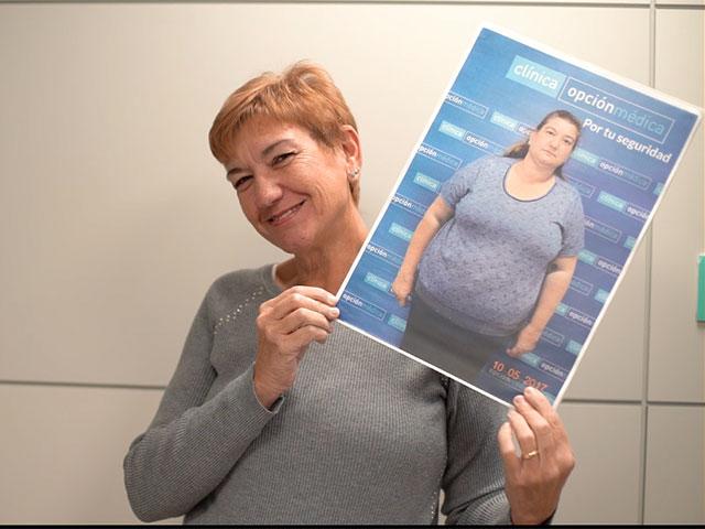 Mari Carmen ganó la Lucha contra la Obesidad